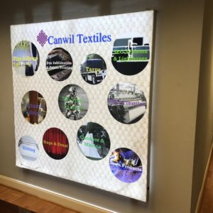 LED Lightbox Canwil Textiles