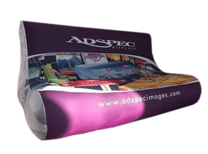 custom promotional items inflatable couch canwil textiles