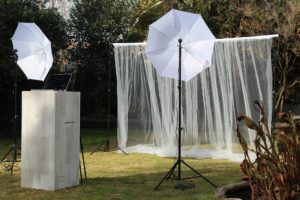 pipe and drape uprights photo booth canwil textiles