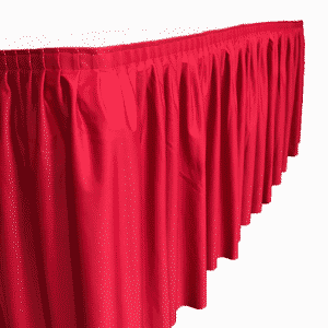 table skirting drape accessories canwil textiles